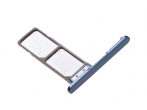 U50051351, 306J22S0E00 - Card tray Sony G3412, G3416, G3426 Xperia XA1 Plus Dual - blue (original)